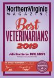 Best Veterinarian of 2019 - Northern Virginia Magazine