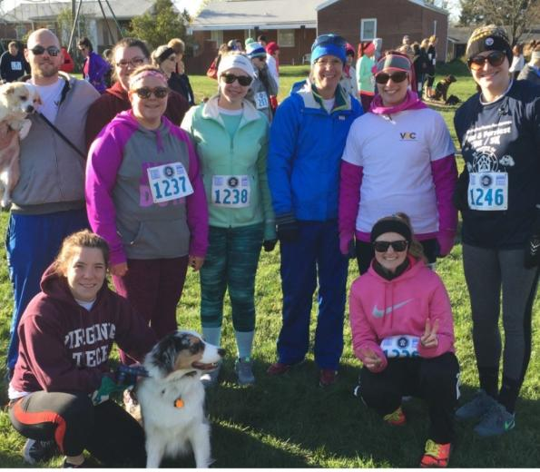 Operation Paws for Homes 5k - Team VSC